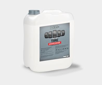 Купить профессиональное концентрированное средство для очистки и полировки шин TIRE MONOCHROME