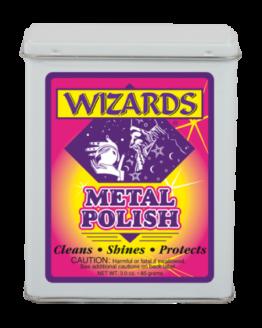 Купить WIZARD METAL POLISH (чисящая вата),85гр.