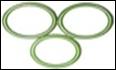 Купить комплект колец для муфты-байонета 250bar