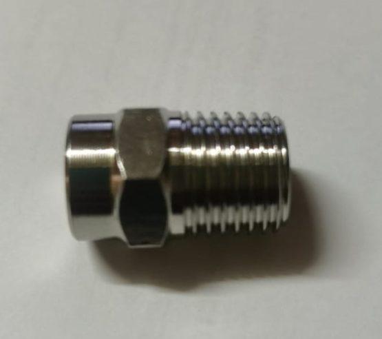 Форсунка 25045, 1/4 внешняя, нержавейка сталь.